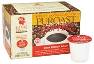Puroast - Ground Low Acid Coffee Dark French Roast - 4.65 oz.