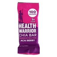 Health Warrior - Chia Bar Acai Berry - 0.88 oz.