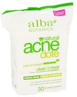 Natural ACNEdote Clean 'n Treat Towelettes