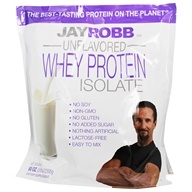 Jay Robb - Whey Protein Isolate Unflavored - 80 oz.