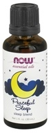 NOW Foods - Peaceful Sleep Essential Oil Blend - 1 oz.