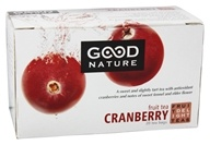 Good Nature Tea - Fruit Delight Tea Caffeine Free Cranberry - 20 Tea Bags