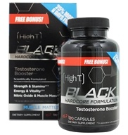 Black Testosterone Booster Hardcore Formulation Free Bonus!
