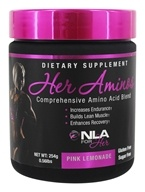 NLA for Her - Her Aminos Comprehensive Amino Acid Blend Pink Lemonade 5875 mg. - 240 Grams