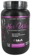 NLA for Her - Her Whey Ultimate Lean Protein Chocolate Eclair - 2 lbs.