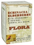 Herbal Tea Blend Echinacea Elderberry with Cranberry & Rooibos Caffeine-Free