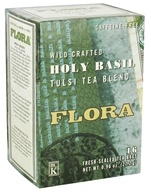 Wild Crafted Holy Basil Tulsi Tea Blend Caffeine-Free