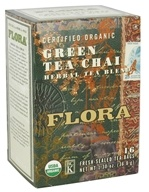 Certified Organic Herbal Tea Blend Green Tea Chai