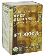 Certified Organic Herbal Tea Blend Deep Cleanse Caffeine-Free