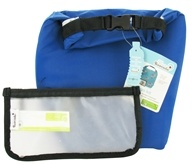 Clik 'N Go Kit Reusable Insulated Roll Top Bag + Reusable Storage Bag