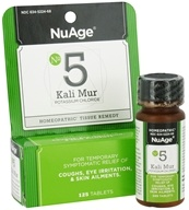 #5 Kali Mur Potassium Chloride Homeopathic Tissue Remedy