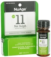 #11 Nat Sulph Sodium Sulphate Homeopathic Tissue Remedy