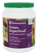 Green SuperFood Drink Powder 100 Servings Goji & Acai
