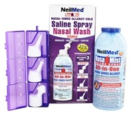 NasaMist Saline Spray Nasal Wash