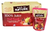 100% Natural Juice Fruit Punch