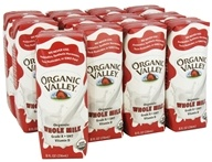 Organic Valley - Organic Whole Milk 12 x 8 oz. Cartons