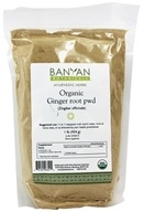 Organic Ginger Root Powder (Zingiber Officinale)