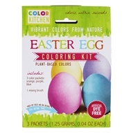 Glob Colors Natural Easter Egg Coloring Kit - 3 x .13 oz (1.25g) Packets