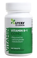 LuckyVitamin - Vitamin B-1 100 mg. - 100 Tablets