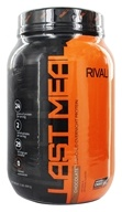 Rivalus - Last Meal Enriched Nighttime Protein Dark Chocolate - 2 lbs.