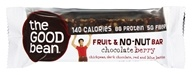 The Good Bean - Gluten Free Fruit and No-Nut Bar Chocolate Berry - 1.41 oz.