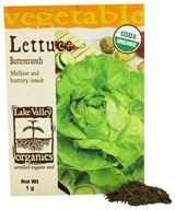 Organic Lettuce Buttercrunch Seeds