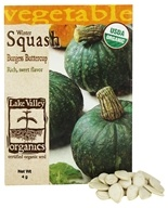 Organic Winter Squash Burgess Buttercup Seeds