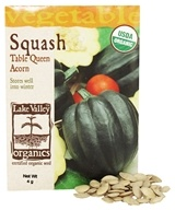 Organic Squash Table Queen Acorn Seeds