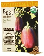 Organic Eggplant Black Beauty Seeds