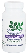 Vitanica Professional - Breast Cycle Blend - 60 Vegetarian Capsules