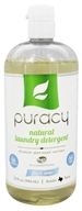 Puracy - All Natural 4x Laundry Detergent Free & Clear - 32 oz.