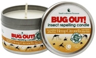 DROPPED: Way Out Wax - Bug Out! Insect Repelling Candle Hemp Citronella - 3 oz.