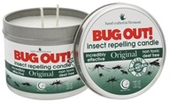 Way Out Wax - Bug Out! Insect Repelling 2 Wick Candle Original - 14 oz.