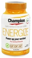 Champion Naturals - Energize Pre-Workout Booster - 60 Vegetarian Capsules