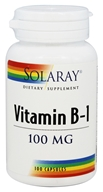 Solaray - Vitamin B-1 100 mg. - 100 Capsules