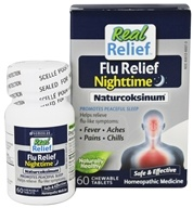 Real Relief Flu Nighttime Naturcoksinum