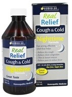Homeolab USA - Real Relief Cough & Cold Nighttime Formula - 8.5 oz.