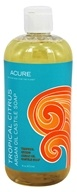 Acure Organics - Argan Oil Castile Soap Tropical Citrus - 16 oz.