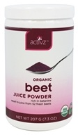 Activz - Organic Beet Juice Powder - 7.3 oz.