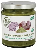 100% Organic Sprouted Pumpkin Seed Butter