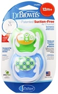 PreVent Orthodontic Pacifiers Unique 12m+