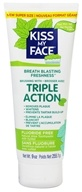 Kiss My Face - Toothpaste Triple Action Gel Fluoride Free - 9 oz.