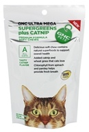 Ultra Mega SuperGreens Plus Catnip Premium Formula For All Cats