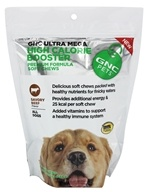 GNC Pets - Ultra Mega High Calorie Booster Premium Formula Soft Chews For All Dogs Savory Beef Flavor - 60 Soft Chews CLEARANCE PRICED