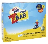 Kid Z-Bar Organic Iced Lemon Cookie