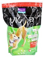 Vigor by Halo - Natural Dry Dog Food Pork, Vension & Salmon Recipe - 4 lbs.