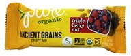 PureBar - Pure Organic Ancient Grains Nut Bar Triple Berry - 1.23 oz. LUCKY PRICE