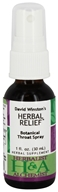 Herbal Relief Botanical Throat Spray