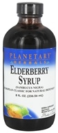 Planetary Herbals - Elderberry Syrup - 8 oz.