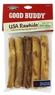 Castor & Pollux - Good Buddy USA Rawhide 5 Inch Sticks - 5 Pack